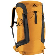 Vaude Brenta 30 Backpack - Internal Frame in Saffron - Closeouts