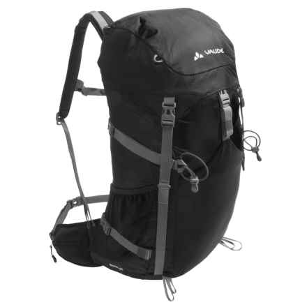 Vaude Brenta 35 Backpack - Internal Frame in Black - Closeouts