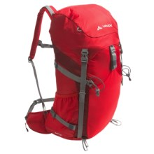Vaude Brenta 35 Backpack - Internal Frame in Red - Closeouts