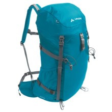 Vaude Brenta 35 Backpack - Internal Frame in Teal Blue - Closeouts