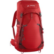 Vaude Brenta 40 Backpack - Internal Frame in Red - Closeouts