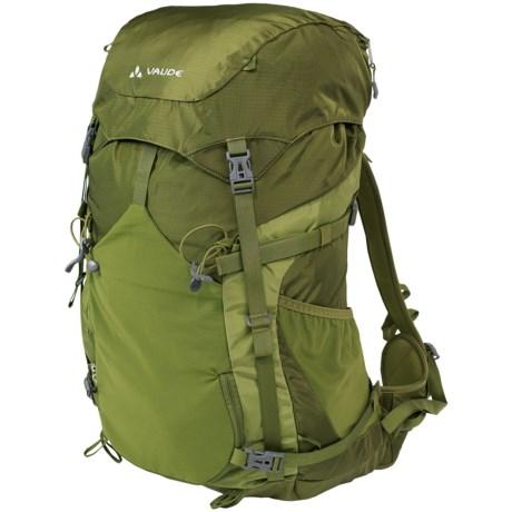 Vaude Brenta 50 Backpack - Internal Frame in Holly Green