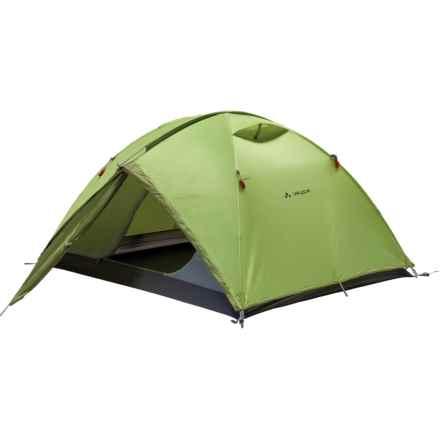 Vaude Campo 3 Tent - 3-Person, 3-Season in Chute Green - Closeouts