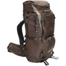 Vaude Cimone 45+10 Backpack - Internal Frame (For Women) in Bison - Closeouts