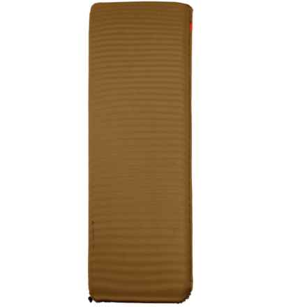 "Vaude Deluxe Sleeping Pad - 78x26x2"" in Tan/Brown - Closeouts"