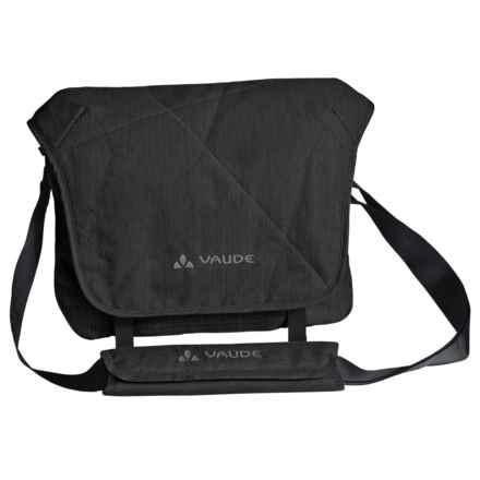 Vaude HaPET Messenger Bag in Black - Closeouts