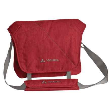 Vaude HaPET Messenger Bag in Red - Closeouts