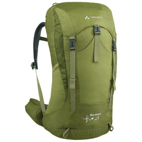 Vaude Maremma 28 Backpack - Internal Frame (For Women) in Green Pepper