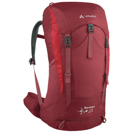 Vaude Maremma 28 Backpack - Internal Frame (For Women) in Salsa
