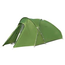 Vaude Odyssee Tent with Footprint - 2-Person, 3-Season in Green - Closeouts
