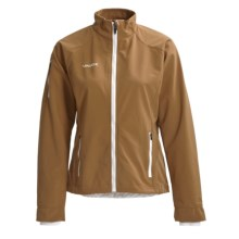 Vaude Parkride Cycling Jacket - Soft Shell (For Women) in Hazelnut - Closeouts