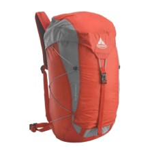 Vaude Rock Ultralight 25 Backpack - Internal Frame in Orange - Closeouts