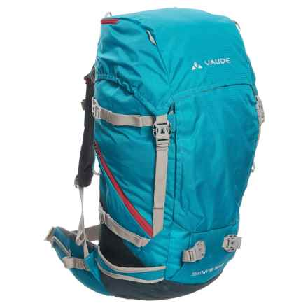 Vaude Simony 36+8 Backpack - Internal Frame (For Women) in Hummingbird - Closeouts