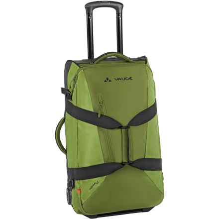 Vaude Tecotravel 65 Rolling Suitcase in Holly Green - Closeouts