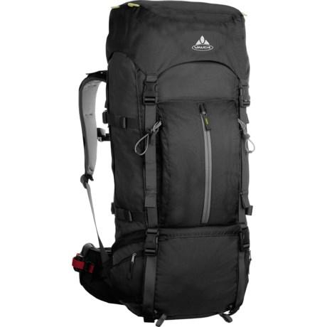 Vaude Terkum II 55+10 Backpack - Internal Frame in Black