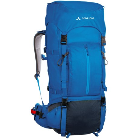 Vaude Terkum II 65+10 Backpack - Internal Frame in Black