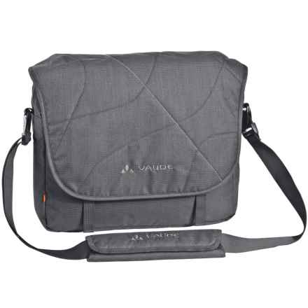 Vaude torPET Messenger Bag in Anthracite - Closeouts
