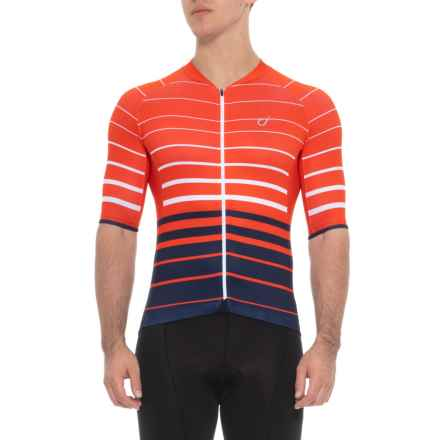 Velocio ES Cycling Jersey - Short Sleeve (For Men) in Red Navy - Closeouts