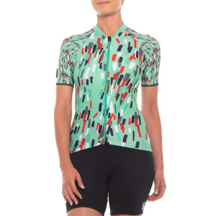 Velocio ES Cycling Jersey - Short Sleeve (For Women) in Celeste - Closeouts 94fb2d4cb
