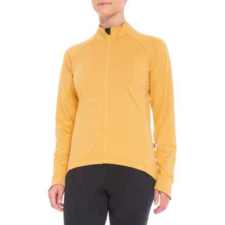 Velocio Recon Cycling Jersey - Merino Wool, Long Sleeve (For Women) in Golden Rod - Closeouts