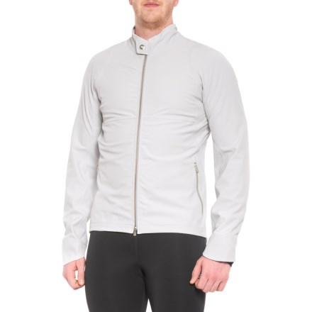 Velocio Recon Hard Shell Cycling Jacket (For Men) in Aluminum - Closeouts 0aba94efc