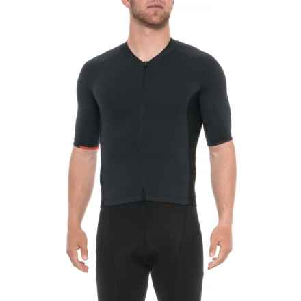 Velocio Signature Cycling Jersey - Short Sleeve (For Men) in Black - Closeouts