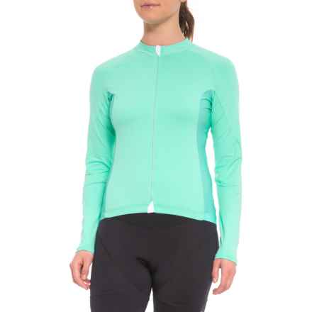 Velocio Signature Light Cycling Jersey - Long Sleeve (For Women) in Mint - Closeouts