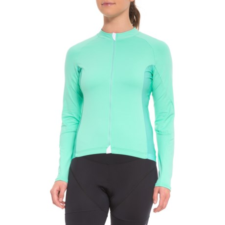 Velocio Signature Light Cycling Jersey - Long Sleeve (For Women) in Mint 7f2a4e27f