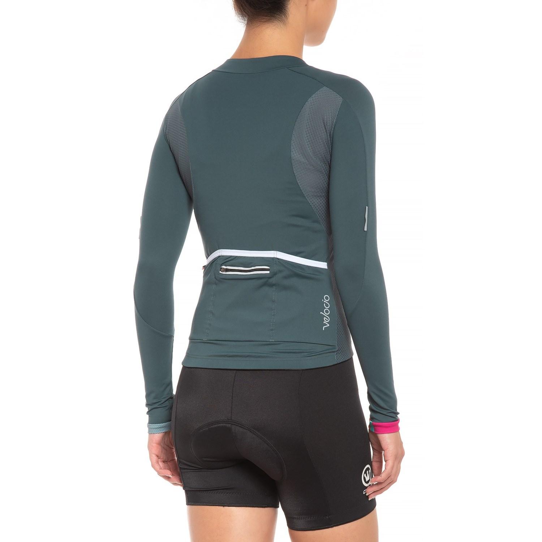 Velocio Signature Light Cycling Jersey - Long Sleeve (For Women) 9985ec90e