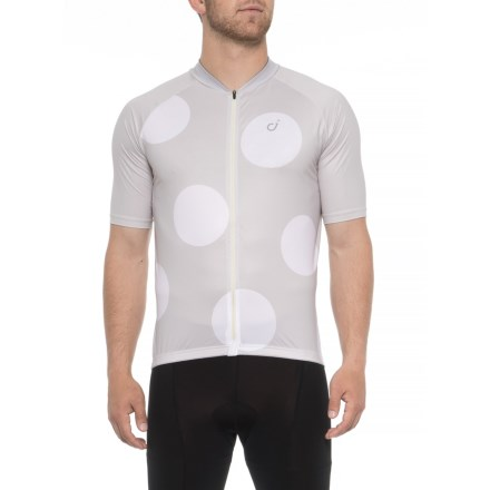 Velocio Ultralight Cycling Jersey - Short Sleeve (For Men) in Vintage White  - Closeouts 18d48526c