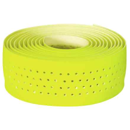 Velox Guidoline Perforated Bike Handlebar Tape in Flourescent Yellow - Closeouts