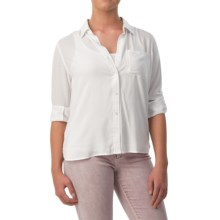 Velvet Heart Elisa Shirt - Long Sleeve (For Women) in White - Overstock