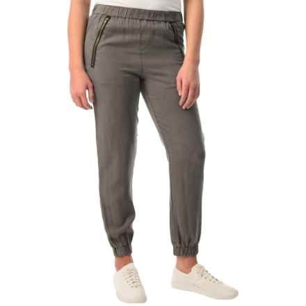 Velvet Heart Joggers - TENCEL® (For Women) in Graphite - Overstock