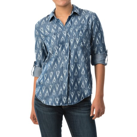 Velvet Heart Riley Shirt TENCEL(R), Long Sleeve (For Women)