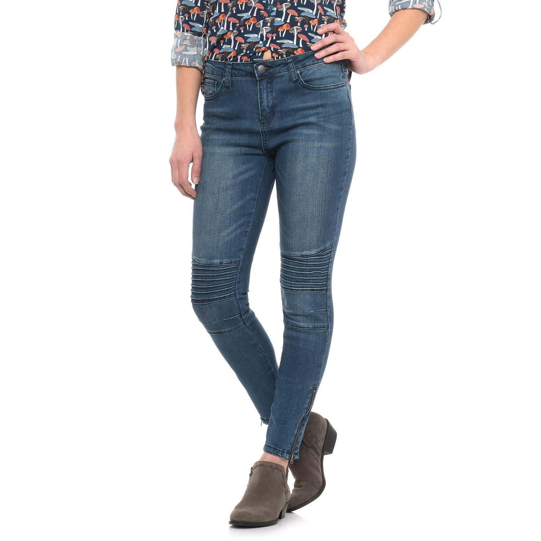 Skinny jean length