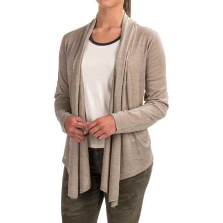 Venario Bella Cardigan Sweater - Merino Wool (For Women) in Nature - Closeouts