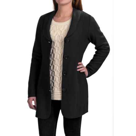 Venario Dixie Jacket - Boiled Wool (For Women) in Black - Closeouts
