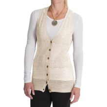 Venario Heidi Merino Wool Vest (For Women) in Cream - Closeouts