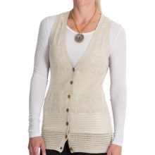 Venario Heidi Merino Wool Vest (For Women) in Offwhite - Closeouts