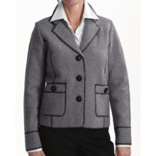 Venario Jude Jacket - Boiled Wool (For Women) in Grey - Closeouts