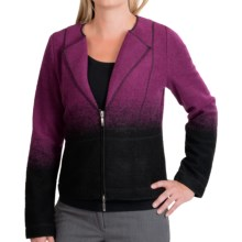 Venario Tess Jacket (For Women) in Cranberry/Black - Closeouts