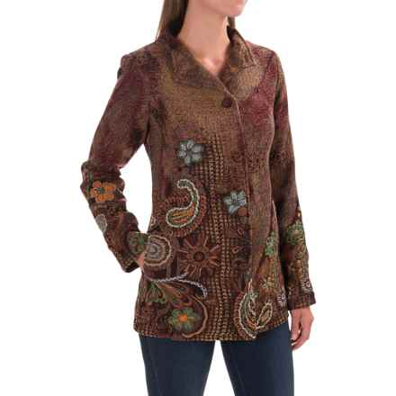 Venario Ute Jacket - Merino Wool (For Women) in Multi - Closeouts