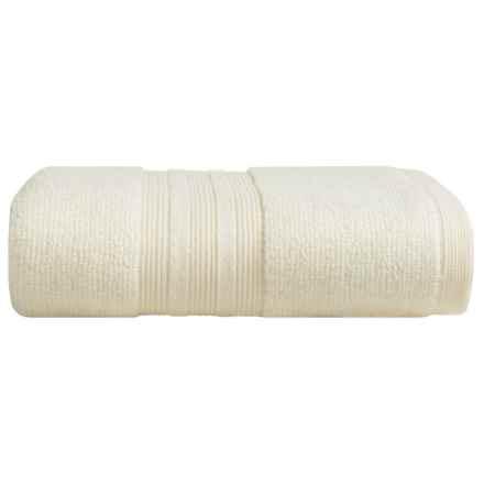 Venus Suite Eco Zero-Twist Cotton Hand Towel in Beige - Closeouts