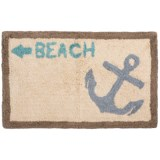 Veratex Boathouse Bath Collection Bath Rug - 20x33""