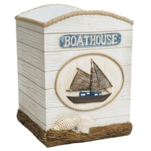 Veratex Boathouse Bath Collection Waste Basket in See Detail - Closeouts