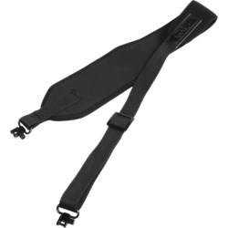 Vero Vellini Wide Top Rifle Sling with Swivels in Black