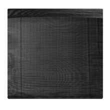 "Versailles Bamboo Roman Shade -  48X72"" in Black - Closeouts"