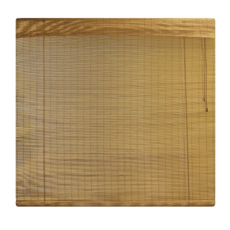 "Versailles Bamboo Roman Shade -  48X72"" in Fruit Wood"
