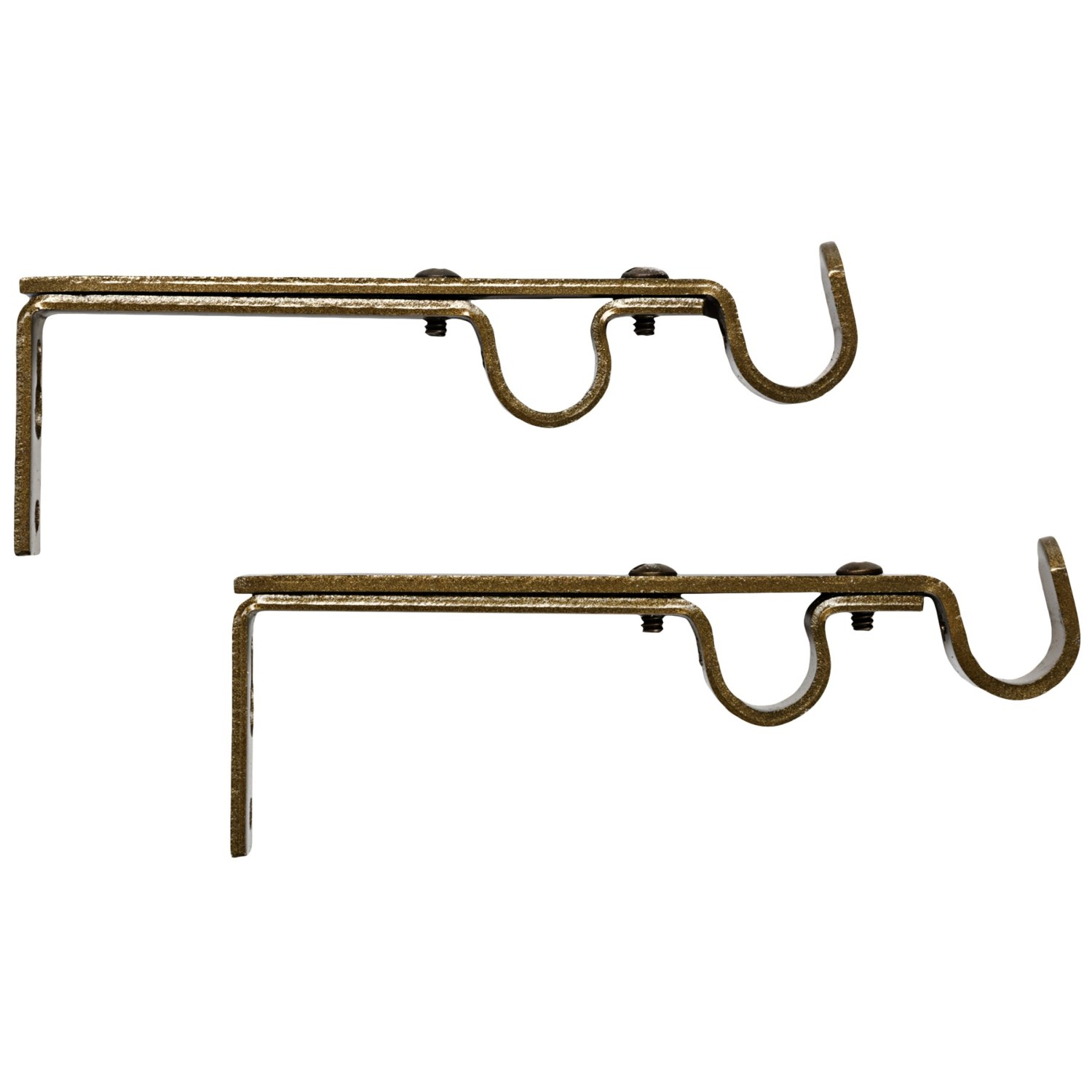 Versailles Designer Collection Double Curtain Rod Brackets Pair 7350n Save 67