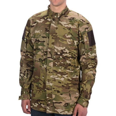 Vertx Gunfighter Storm Shirt - Full Zip, Long Sleeve (For Men) in Multicam